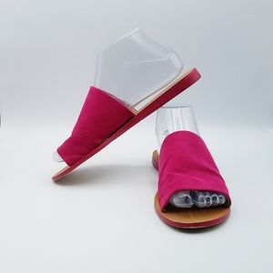 Soft Surroundings Antime Slides Fushia Pink 7